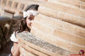 Fotos de comunión en plaza de España