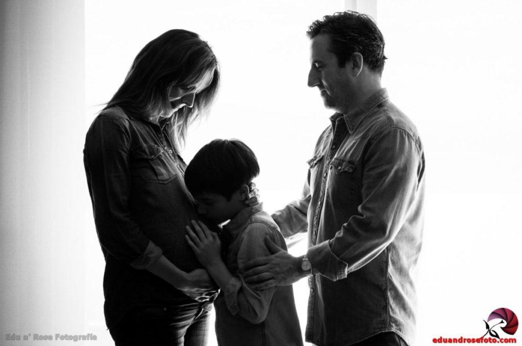 Sesión de maternidad y paternidad